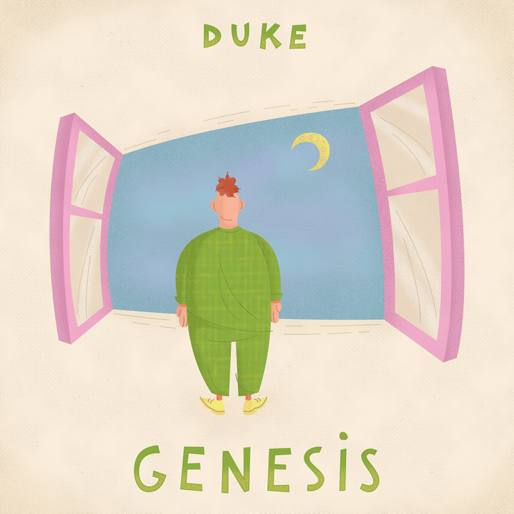 Album Cover Illustration – Genesis/Duke