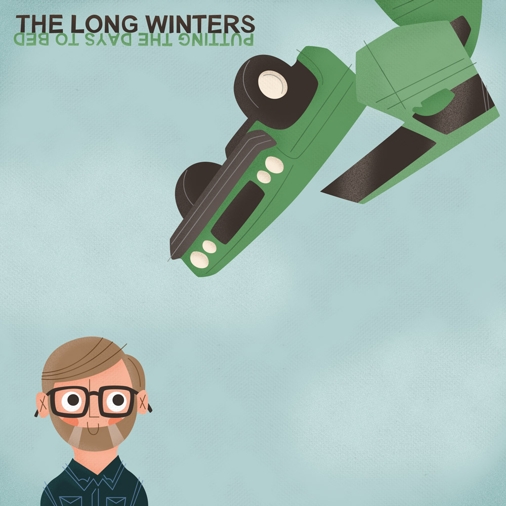 Album Cover Illustration – The Long Winters/Putting The Days To Bed