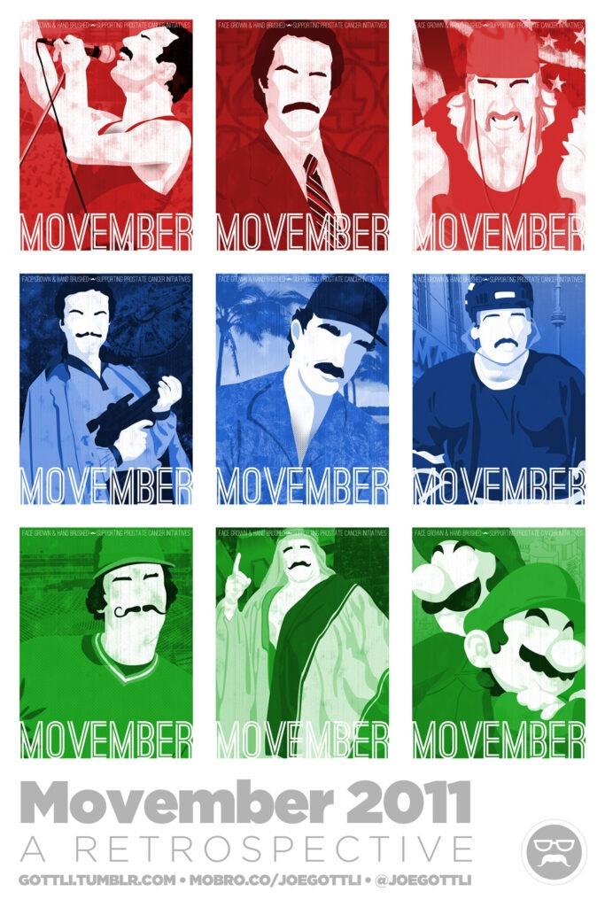 Movember 2011: A Retrospective