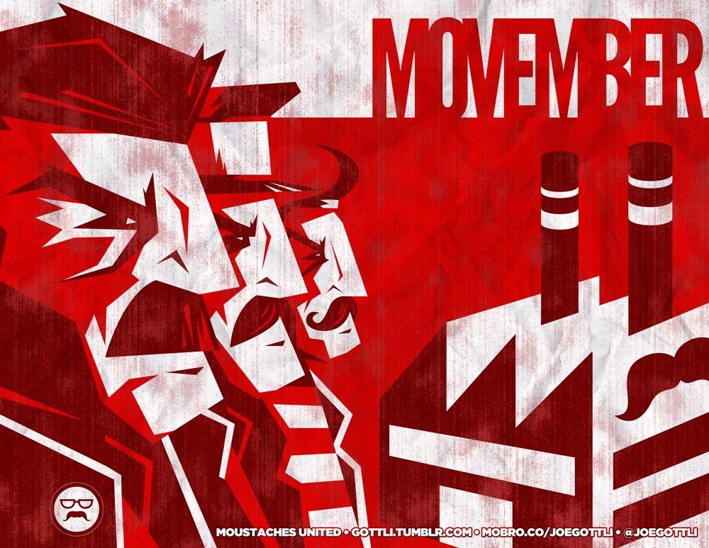 Movember 2012 – Moustaches United