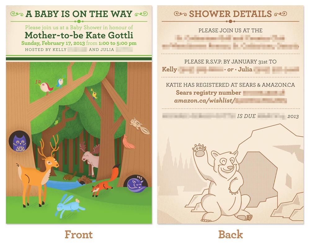 Baby Shower Invitation – Version 2
