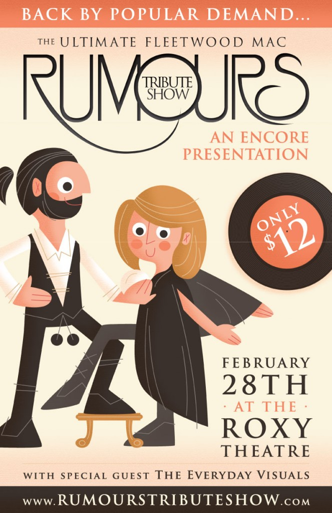 Rumours Tribute Show Poster