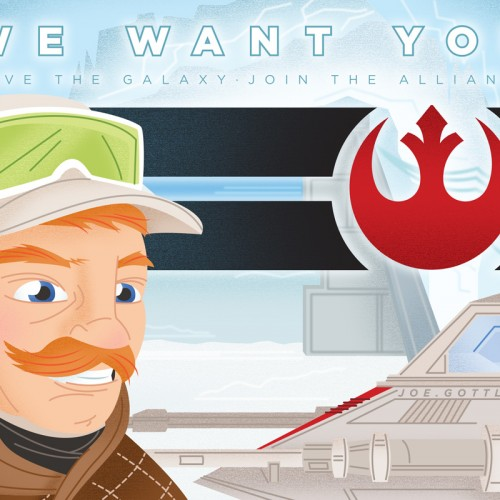 We Want You – Rebel Alliance Poster
