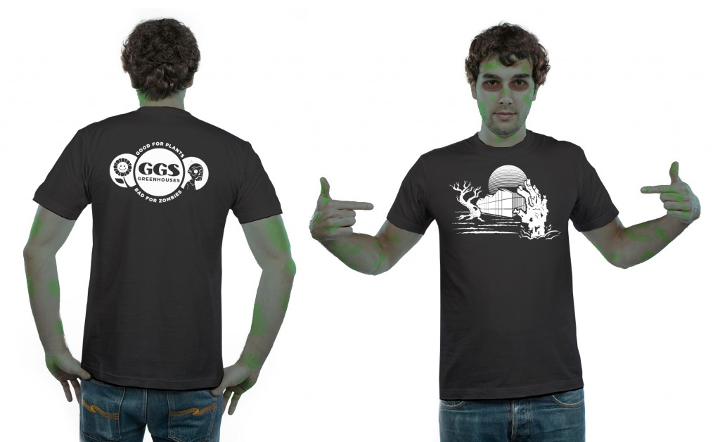 GGS Greenhouses – Greenhouse vs. Zombies T-Shirt