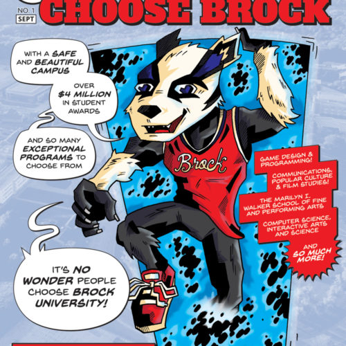 Brock Fan Expo Program Ad