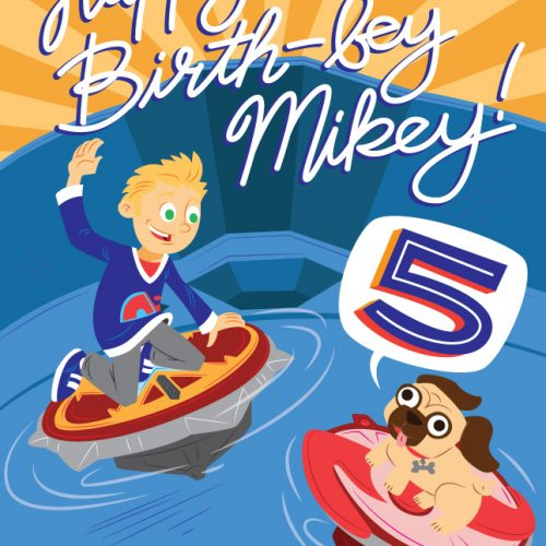 5th Birth-Bey Card