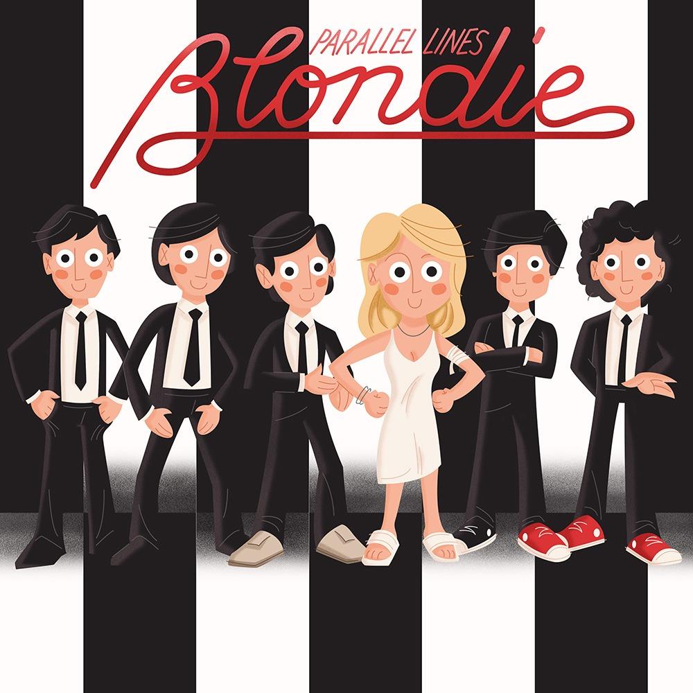 <span>Album Cover Illustration – </span>Parallel Lines