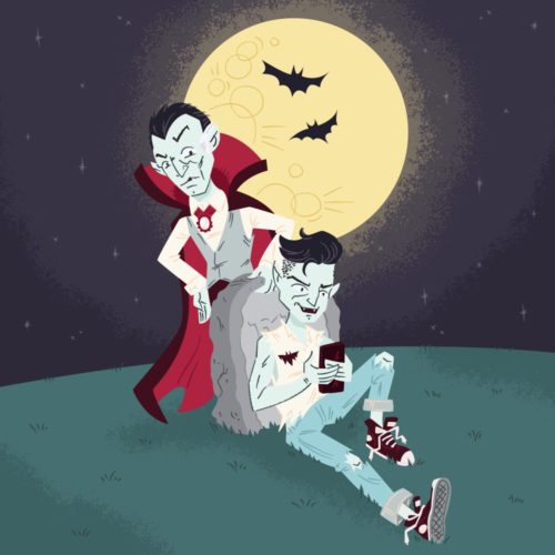 Dracula and His Son