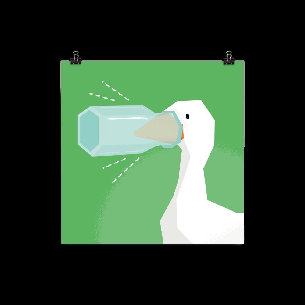 Silenced Goose Honk
