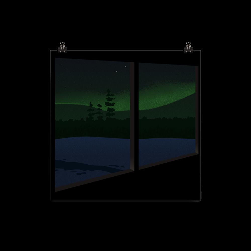 Aurora Through The Window