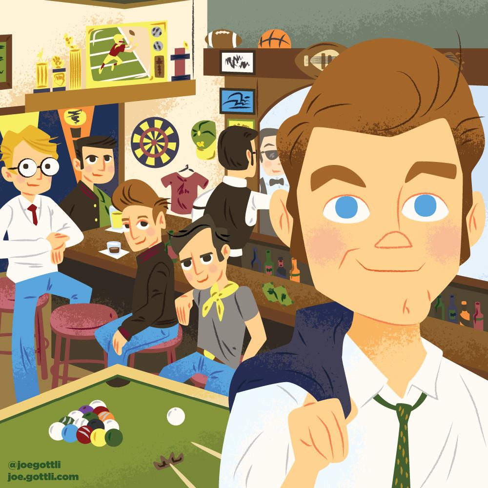 <span>Album Cover Illustration – </span>Sports