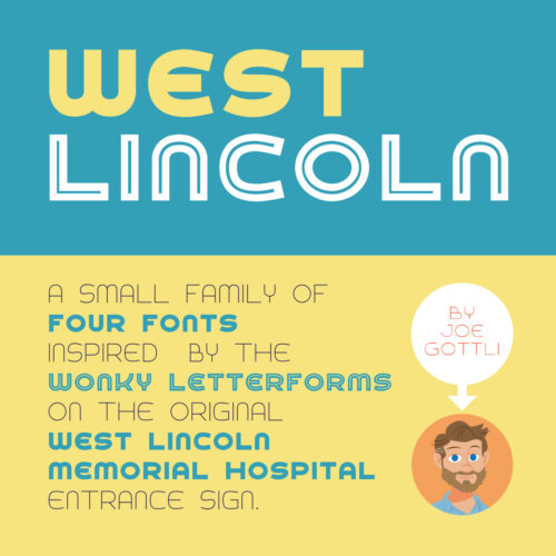 West Lincoln Fonts